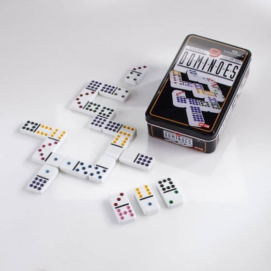 Het grote dominospel dubbel 9