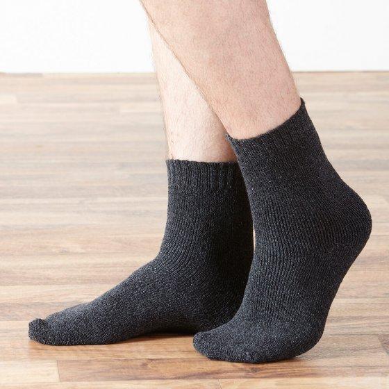 Katoenen thermo-sokken 6 stuks