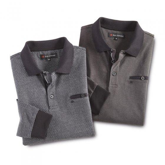 Modern shirt met lange mouwen
