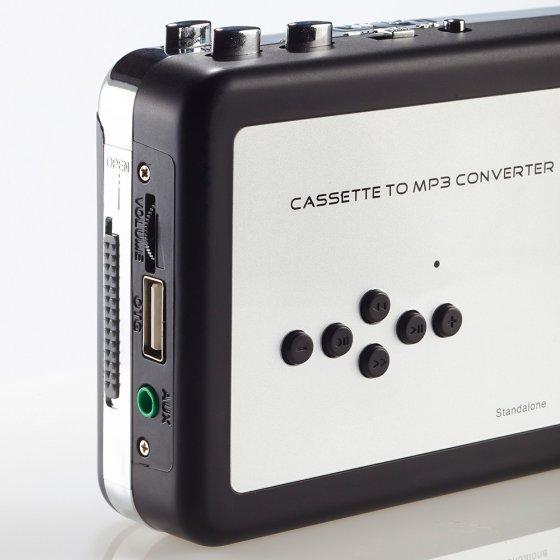 Cassette- en audio-digitizer