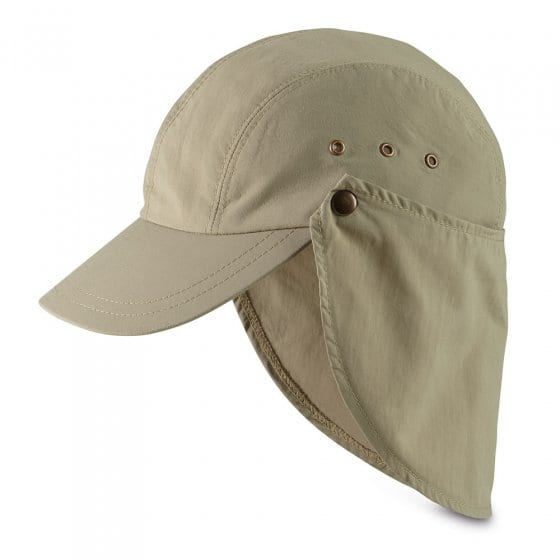 Cap met afneembare nekbescherming