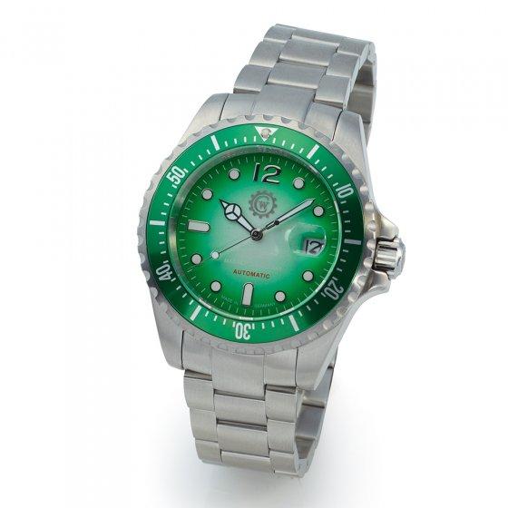 Duikhorloge 'Green Diver'
