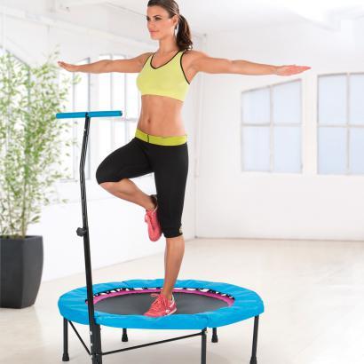 Afbeeldingsresultaat voor fitness trampoline