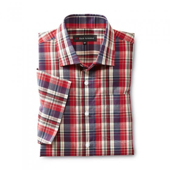 Geruit 'Easy Care'-overhemd