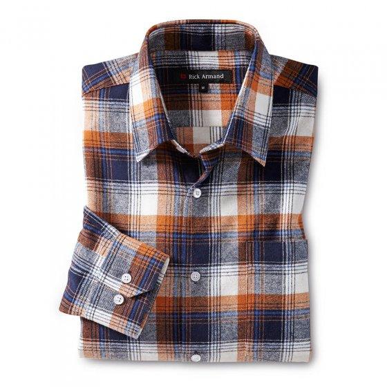Overhemd van katoen-flanel