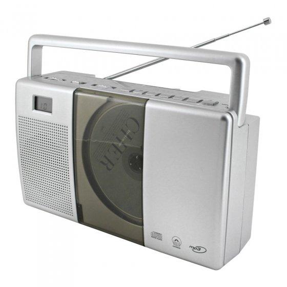 Draagbare radio-cd-speler