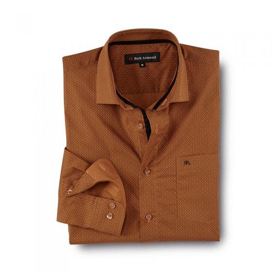Elegant gedessineerd overhemd