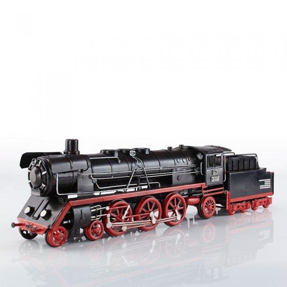 Plaatstalen model locomotief 01