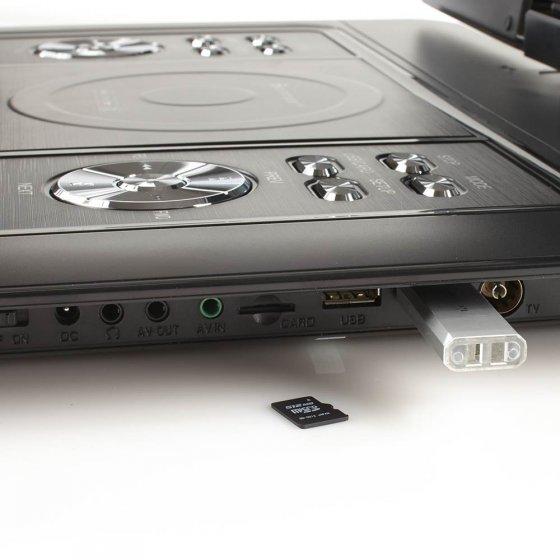 Extra grote dvd- en DVB-T2-speler