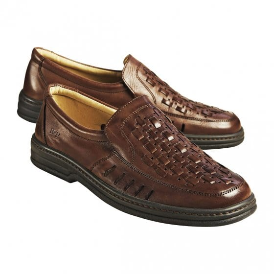 Comfortabele gevlochten schoenen
