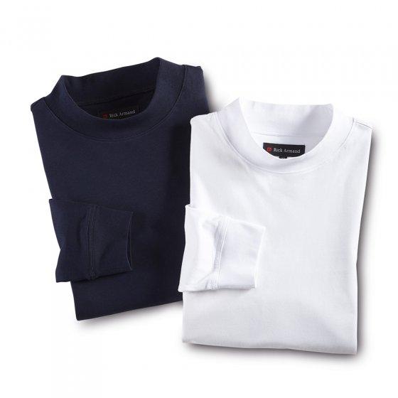Shirt met staande kraag 3 stuks