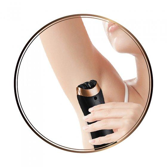 Diamant-epilator met manicureset