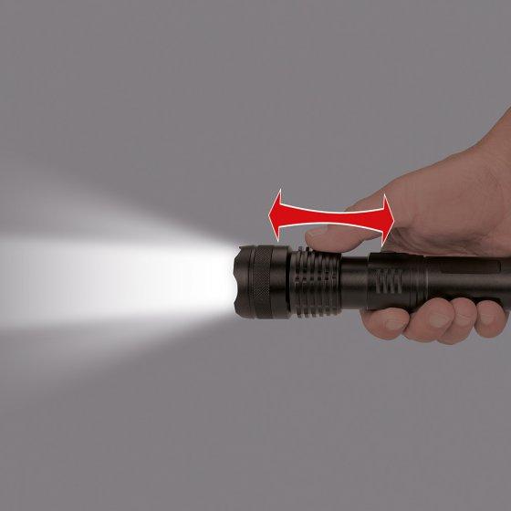 Oplaadbare zaklamp van 1.000 lumen.