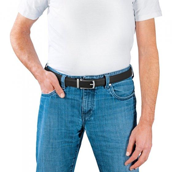 Traploos verstelbare automatische riem