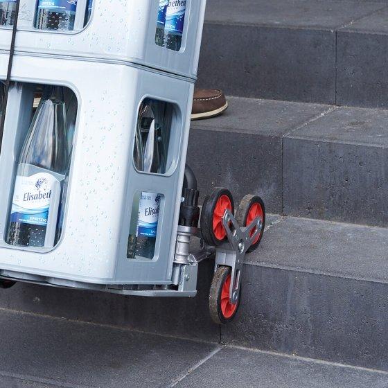 Opvouwbare trolley traploper