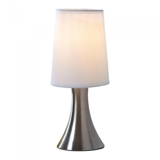 Edelstalen touch lampen set van 2 stuks voordelig for Lampen bestellen