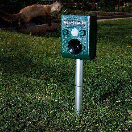 Ultrasone solar-mini-dierenverjager