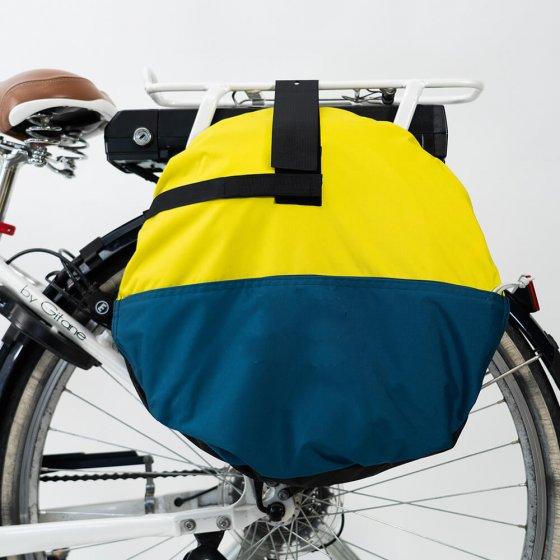 Mobiel fiets-regendak