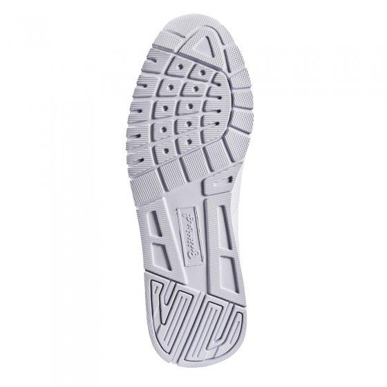 Leren sportschoenen met klittenband