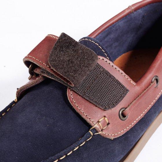 Comfortabele mocassins met klittenbandsluiting