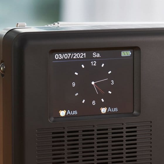 Multifunctionele DAB+-radio met kleurendisplay.