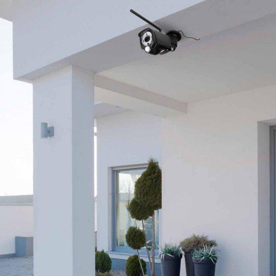 Buiten-beveiligingscamera met monitor