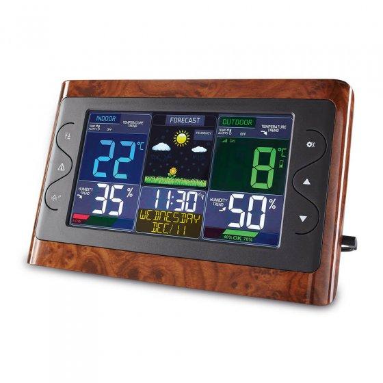Radiografisch weerstation met XL-display