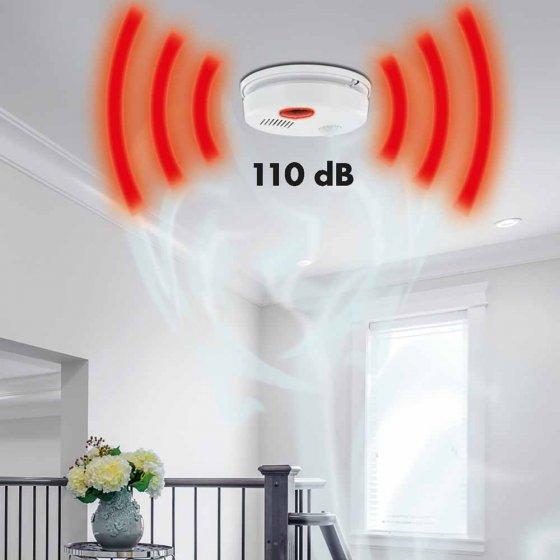 360° plafondalarm met afstandsbediening