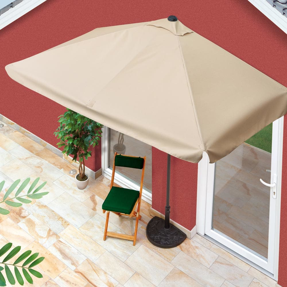 rechthoekige parasol voor balkon la beaut et la psychologie des femmes. Black Bedroom Furniture Sets. Home Design Ideas